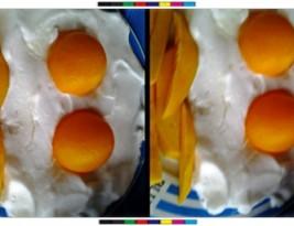 Huevos y patatas falsas