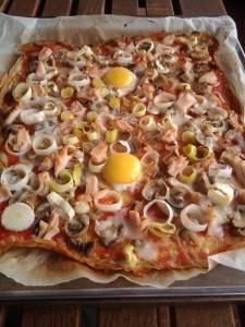 PIZZA DE TOFU 1