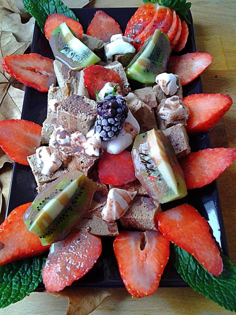 tofu,fresas y walden